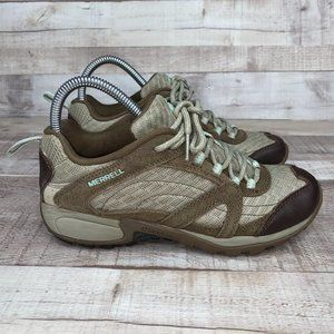 Merrell J123849C Lace Up Low Top Hiking Shoes 6.5